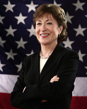 Photo of Senator Susan M. Collins