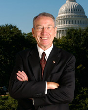 Photo of Senator Chuck Grassley