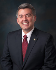 Photo of Senator Cory Gardner