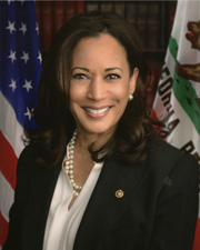 Photo of Senator Kamala D. Harris