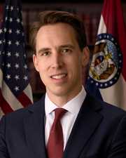Photo of Senator Josh Hawley