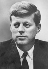 John F. Kennedy (D-MA)