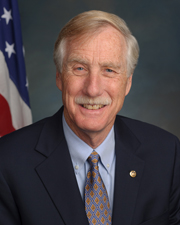 Photo of Senator Angus S., Jr. King