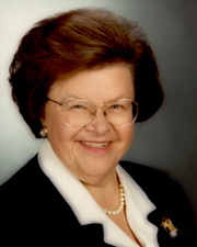 Photo of Senator Barbara A. Mikulski