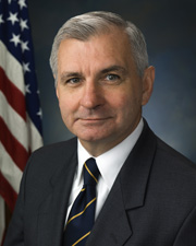 Photo of Senator Jack Reed