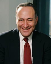 Photo of Senator Charles E. Schumer