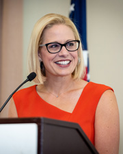 Photo of Senator Kyrsten Sinema