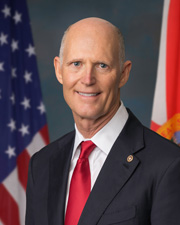 Photo of Senator Rick Scott